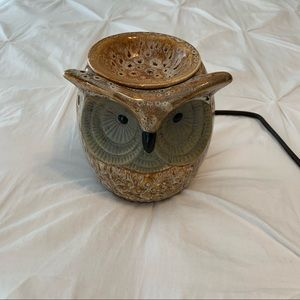 Spotted Owl Full-Size Wax Warmer